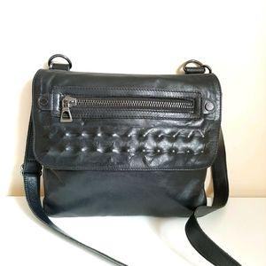 RUDSAK Noir Leather Crossbody Bag
